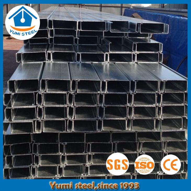 Durable Lipped Steel Channel Purlin - Buy C Purlins, Steel C