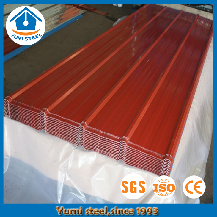 Corrugated Steel Metal Roofing for Exterior Wall