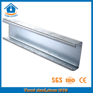 Structural Steel Cee Shaped Purlins for Steel Shed