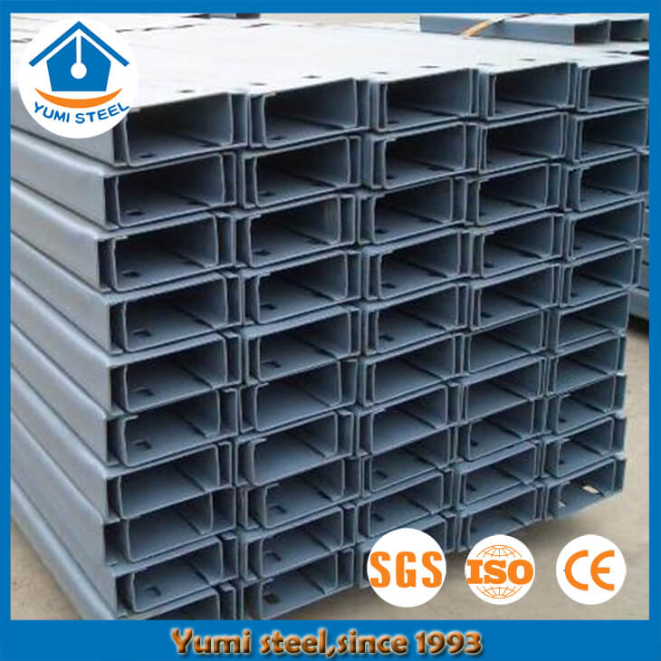 Durable Lipped Steel Channel Purlin