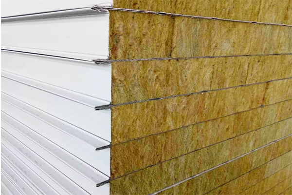 rock wool sandwich panel 3