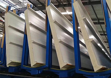 Environmentally friendly sandwich panel