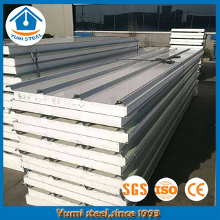 75mm Australian Standards Roof Insulation EPS Sandwich Panels for Prefab Houses