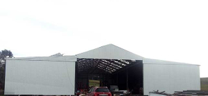 Steel Shed Project in Australia