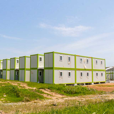 Flat Pack Container Houses As Temporary Residence To Japan