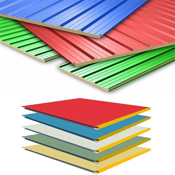 What are sandwich panels?