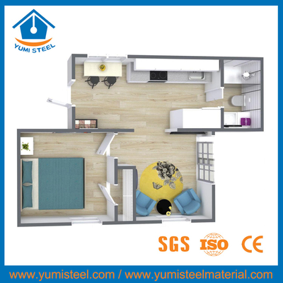 Prefab Shipping Container House Unit for Individual House/office Room